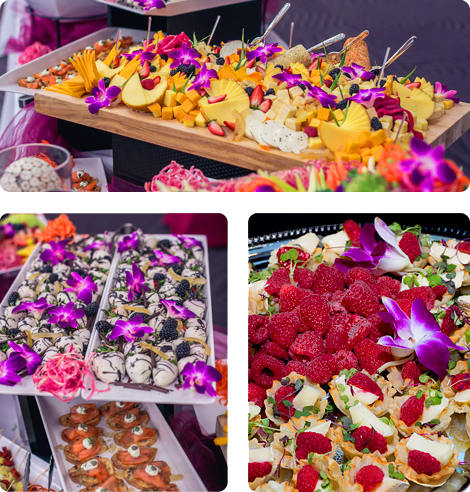 Catering Example hors d'oeuvres