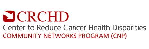 Center to Reduce Cancer Health Disparities Community Network Program logo