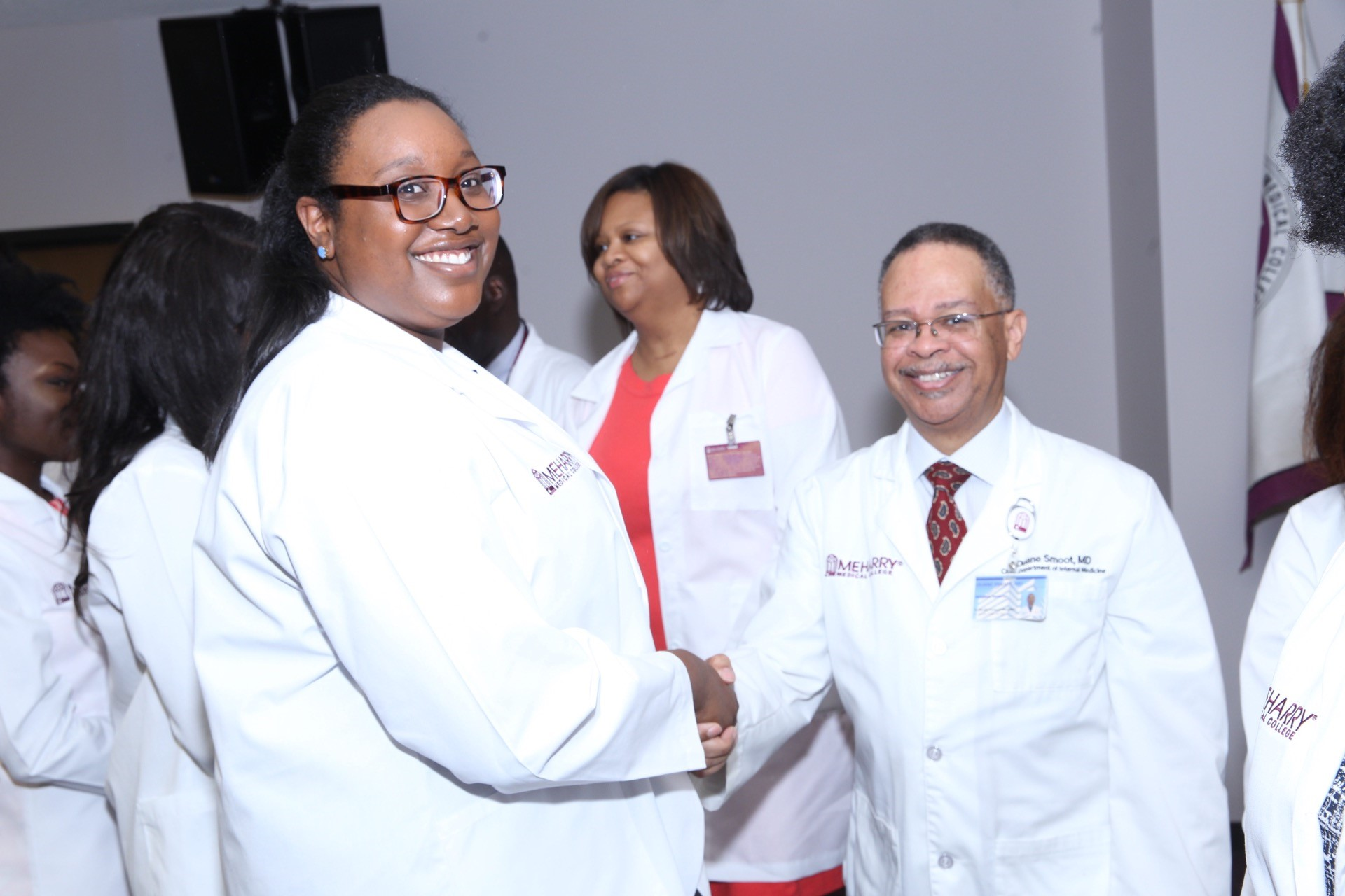LARGEST MEDICAL CLASS IN MEHARRY'S HISTORY RECEIVES WHITE COATS ...