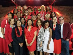 Go Red for Women group