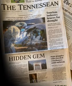 Tennesseanf front page