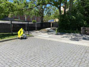 Detour Access from Parking Lot